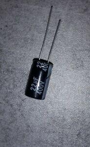22uf 400v condensateur chimique  électrolytique NICHICON