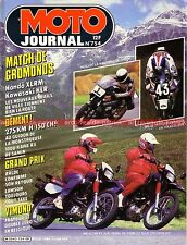 MOTO JOURNAL  754 Road Test KAWASAKI GPZ 1000 RX KLR 600 XL RM HONDA MONTESA 304