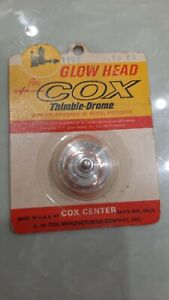 Rare Cox Medallion-Olympic-Sportsman .15 Glow Head - Part #1102 (NIP)