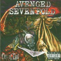 """AVENGED SEVENFOLD """"CITY OF EVIL"""" CD NEU"""
