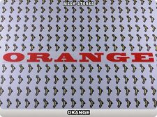 "ORANGE Stickers Decals Bicycles Bikes BMX MTB Rims Cycles ""DIFFERENT COLORS"" 56B"