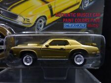 NEW 1994 Johnny Lightning 1969 GOLD COUGAR ELIMINATOR Muscle Cars USA Series 9