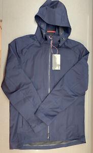 Rapha Hooded Wool Jacket Dark Navy Size Medium Brand New With Tag