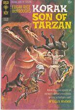 Korak Son Of Tarzan #33. Fine+. 1970