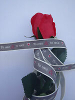 Ribbon east of india all lengths wedding crafts gift wrap to have and to hold