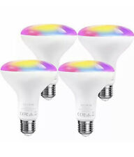 Smart Light Bulbs,TECKIN LED RGB Color Changing,E27 100W 1300LM Equivalent 4 Pac