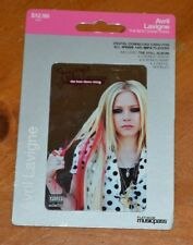 RARE AVRIL LAVIGNE COLLECTIBLE DIGITAL ALBUM CARD NOT ACTIVATED DOES NOT WORK