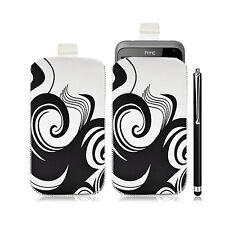 Housse coque étui pochette pour HTC Radar avec motif HF04 + Stylet luxe