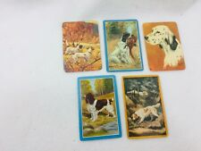 5 Single Swap Playing Cards Hunting Pointer 25517 Playing Bird Dogs Dog