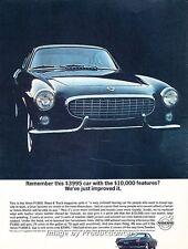 1963 1964 Volvo P1800 Gran Turismo Original Advertisement Print Art Car Ad J660