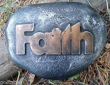 Faith rock mold plaster concrete reusable mould