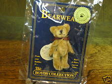 Boyds Wuzzie #50001 TINA F WUZZIE, Bearwear Pin, NEW with tags From Retail Store