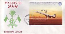 4389+  1 er JOUR  CONCORDE   BLOC  MALDIVES