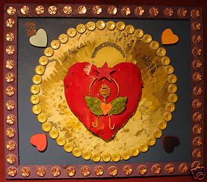 ANGEL HEART SUN New Orleans Louisiana Folk Art DR. BOB