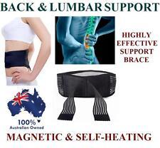 Magnetic Tourmalin Lumbar Lower Back Support Waist Brace Belt Strap Pain Relief