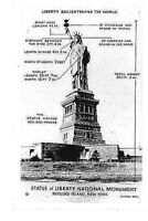Statue of liberty i Bedloe's island New York  N.Y. postcards  PM-1946   /3