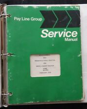 INTERNATIONAL HARVESTER PAY LINE 240A INDUSTRIAL & WHEEL LOADER TRACTOR MANUAL