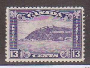 A3105: Canada #201 Mint, OG, VF, LH; CV H