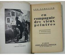 Léo Larguier - En compagnie des vieux peintres. Reproductions, Edition originale