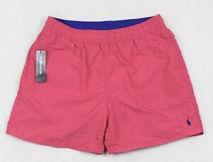 Polo Ralph Lauren Swim Trunks Briefs Shorts Pink XXL NWT