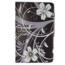 Funda tablet estuche bolsa para alcatel 1t 10 10.1 negro flor