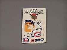 CHICAGO CUBS PIN from 1995 - 50TH ANNIVERSARY NATIONAL LEAGUE CHAMPIONS