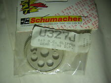 Schumacher U327J 86T Q.C Slipper gear 48 D.P CAT Cougar 2000 Couronne rc vintage