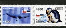 Chile 2006 joint issue with Estonia Antarctic Whale Penguins MNH scarce!!