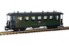 Train Reko-Personenwagen, Runddach, grün, TB, Spur G, Metallgriffe, Gartenbahn
