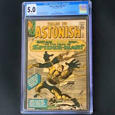 Tales To Astonish #57 (Marvel 1964) 💥 CGC 5.0 💥 Early Spider-Man App! Comic