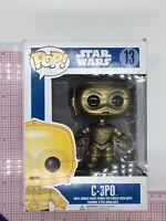 Funko Pop! Disney Star Wars C-3PO 13 Vinyl Figure Series 2 BOX WEAR N02