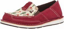 ARIAT Women's Cruiser Slip-On Shoe, Vintage Cowgirl/Cranberry