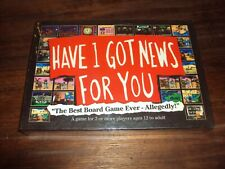 Have I Got News For You HIGNFY Board Game Brand New Sealed Free UK P&P
