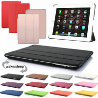 New Smart Stand Leather Magnetic Case Cover For iPad 4 3 2 mini Air 2 Pro