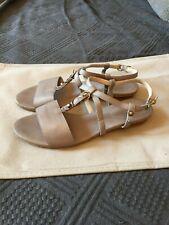 scarpe donna DREAM 37 EU sandali grigio pelle BY480-37 Abbigliamento e accessori