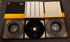Lot of 3 - 140 slide Kodak Slide Carousels with indexes - 2 transvue and 1 other