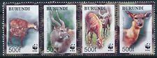[212] Burundi Fauna WWF good Set very fine MNH Stamps