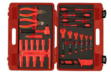 HYBRID VEHICLE INSULATED VDE 3/8 DRIVE SOCKET RATCHET SPANNER PLIERS TOOL KIT