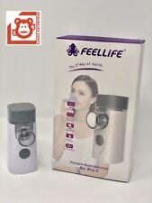 FeelLife Portable Mesh Ultrasonic Nebulizer,  Air Pro II, 1 yr Factory Warranty