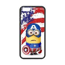 iPhone 6/6s Cartoon Minions Cosplay Captain America Hard  Cover Case