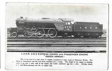 "LNER Express Goods and Passenger Engine no 4771 ""Green Arrow"" RP PPC, Unposted"