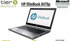 HP EliteBook 8470p - Intel i5 2.60GHz, 4GB RAM 320GB HDD Windows 7 Pro Laptop