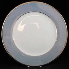 Haviland ALLURE SKY BLUE LUSTER Service Plate BRIDAL REGISTRY MINT CONDITION