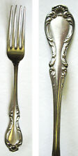 """GRAFTON"" Stamped Antique Silverplated Dinner Fork JOAN 1896 Pattern R Wallace"