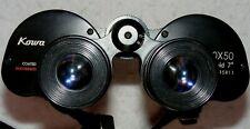 Kowa Featherweight Coated 10x50 binoculars in case. Made in Japan