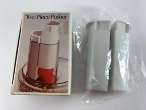 Two Piece Pusher AN-406 for Robot Coupe RC 2000, 2100 Cuisinart CFP-4, 5, 9 New