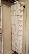 ClosetMaid 10 Shelf Hanging Shoe Organizer, Canvas, Sturdy