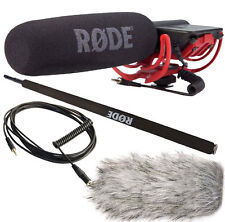 Rode VideoMic Rycote + Deadcat ANTIVENTO + Micro-Boom Pole + Cavo vc1