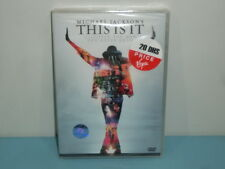 Michael Jackson This is it DVD Region 2 & 5
