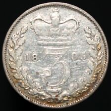 1885 | Victoria Threepence | Silver | Coins | KM Coins